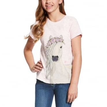 Ariat Girls Festival Pony Tee