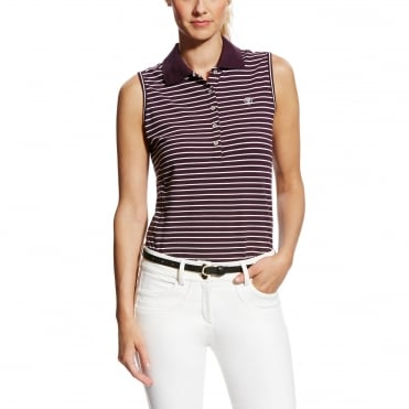 Ariat Prix Sleeveless Polo Shirt
