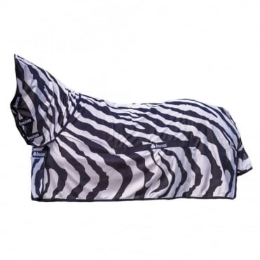 Bucas Buzz-Off Zebra Full Neck Fly Rug