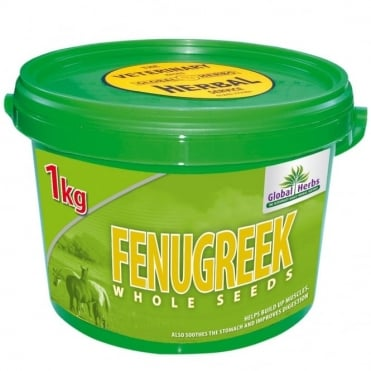 Global Herbs Fenugreek Seeds 1kg