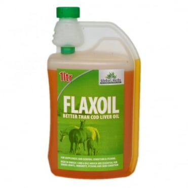 Global Herbs Flax Oil 1Lt