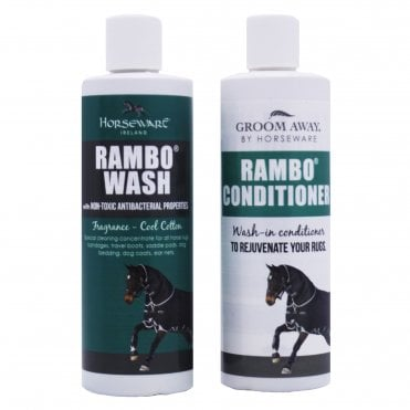 Horseware Rug Wash & Conditioner Twin Pack 250ml
