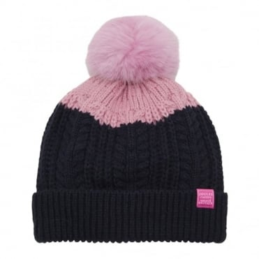 Joules Junior Bobble Hat