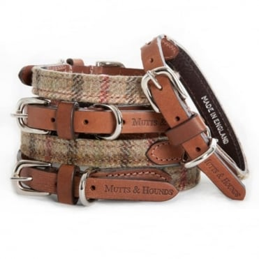 Mutts & Hounds Balmoral Tweed Dog Collar