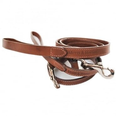 Mutts & Hounds Leather Dog Lead