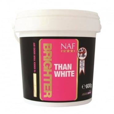 NAF Brighter Than White Whitener 600g