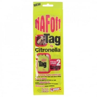 NAF Off Citronella Tag