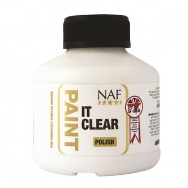 NAF Paint It Clear Hoof Polish 250ml