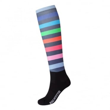 Noble Outfitters Printed Peddies Socks