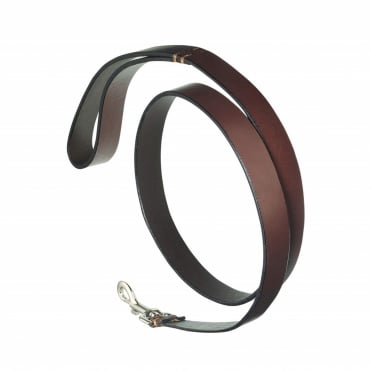 Pampeano Plain Leather Dog Lead