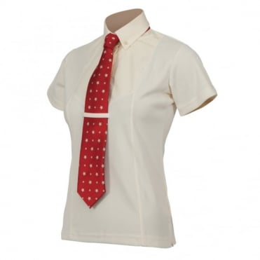 Shires Childrens Short Sleeve Tie Shirt