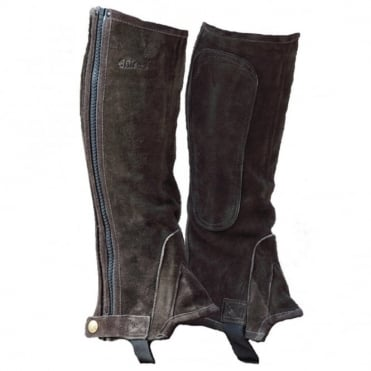 Shires Childs Suede Half Chaps