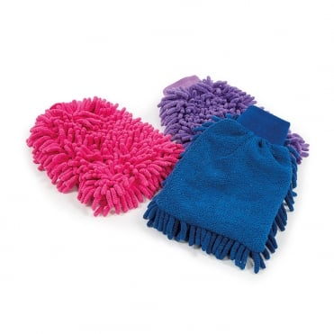 Shires Microfibre Grooming Mitt