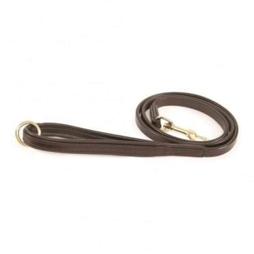 Shires Padded Leather Dog Lead