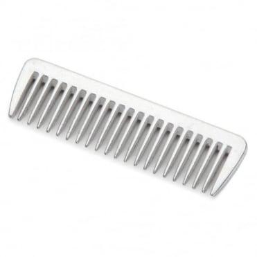 Shires Small Aluminium Mane Comb