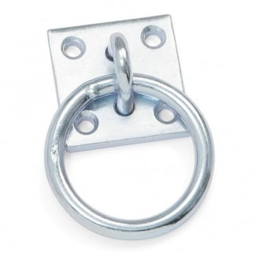Shires Wall Fixing Tie Ring Plate