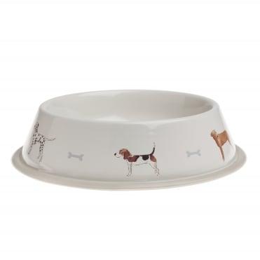 Sophie Allport Woof! Dog Bowl