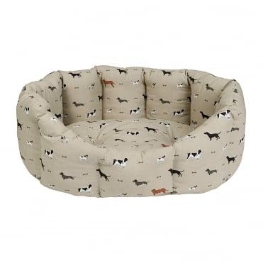 Sophie Allport Woof! Pet Bed