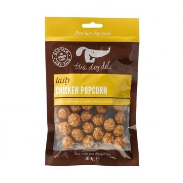 The Dog Deli Chicken Popcorn 100g
