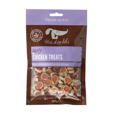 The Dog Deli Chicken Treats 100g