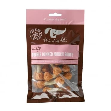 The Dog Deli Double Dunked Munch Bones 100g